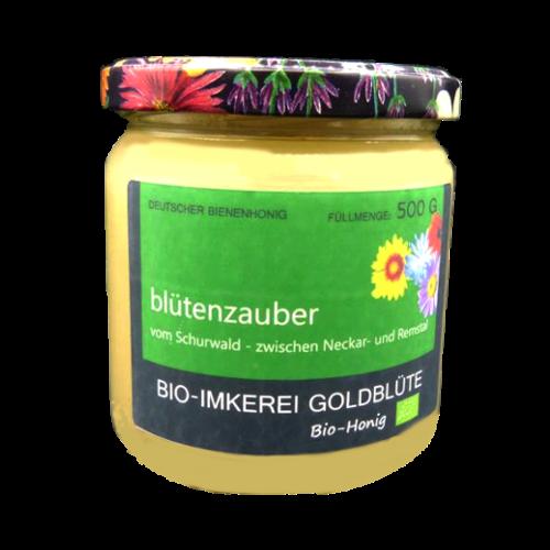 Blütenzauber Honig aus dem Frühjahr 500g Glas