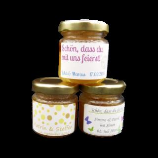 Honig als Gastgeschenke, nachhaltig und entspannt schenken